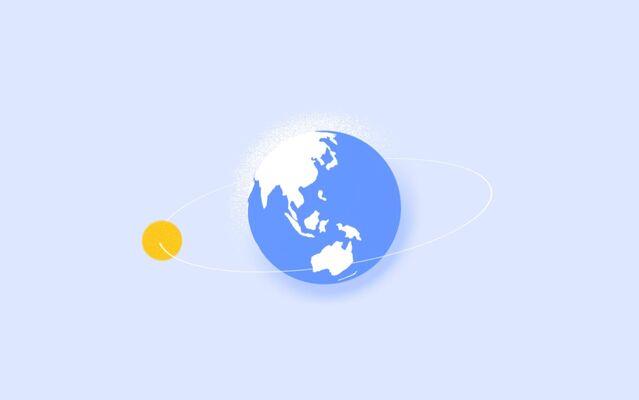 打卡11:伪3D星球绕转动画效果制作
