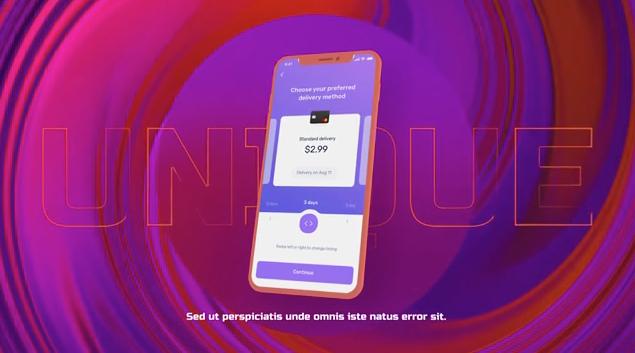 时尚UI样机宣传片,UI设计包装动画AE模板工程源文件
